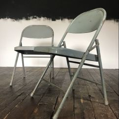 Krueger Folding Chairs Mainstays Rocking Chair Black Industrial From 1974 Set Of 2 For Sale At Pamono Price Per