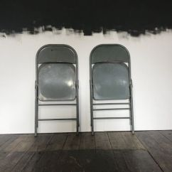 Krueger Folding Chairs Cool Camping Industrial From 1974 Set Of 2 For Sale At Pamono Price Per