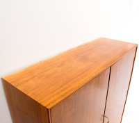 Vintage Mahogany Linen Cabinet by CB Hansen for sale at Pamono