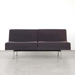 Herman Miller Modular Sofa Raymour And Flanigan Leather Seating Series 2 Seater By George Nelson For