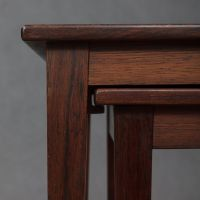 Mid-Century Rosewood Nesting Tables, 1960s for sale at Pamono