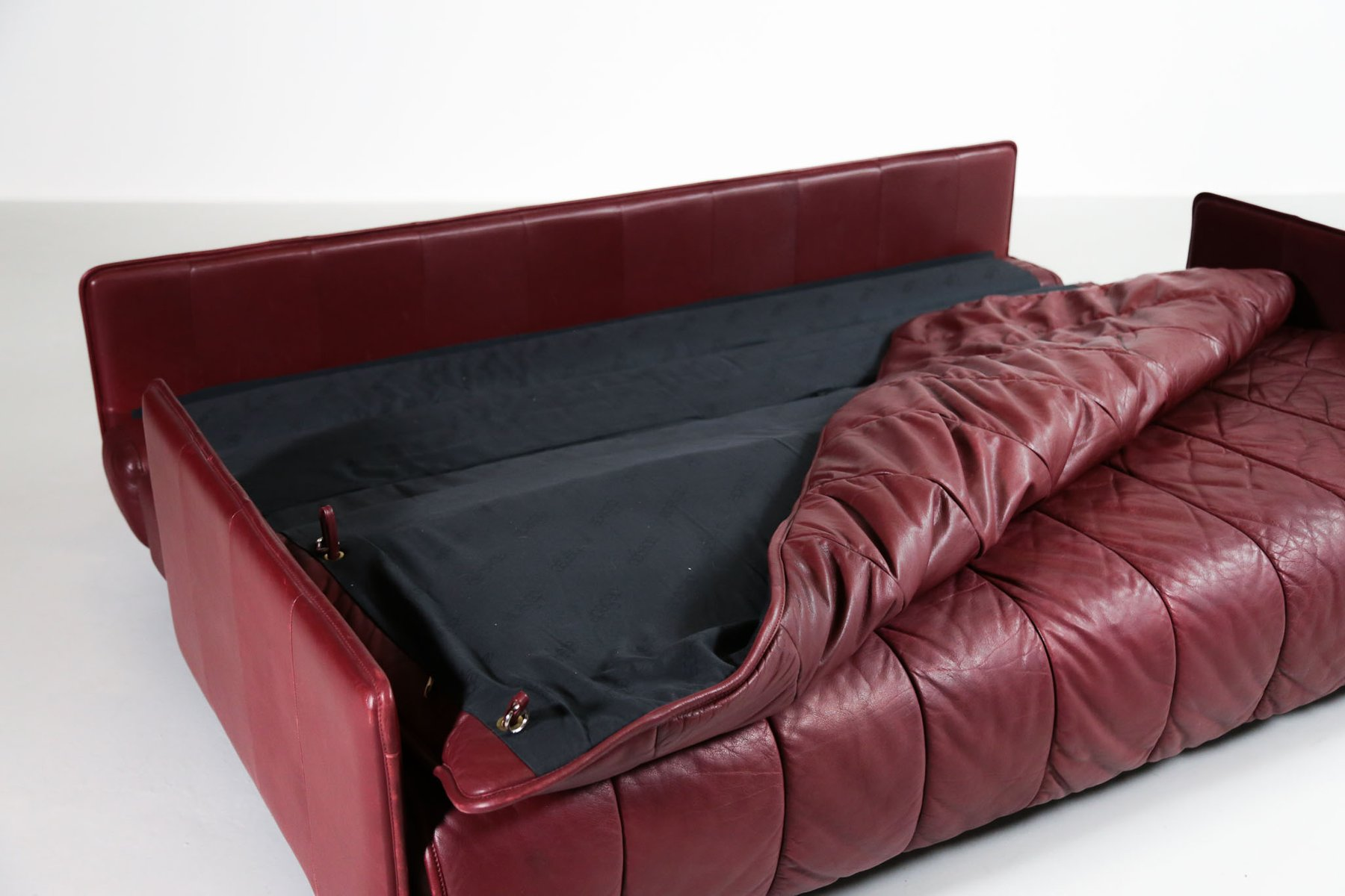 de sede sleeper sofa quality leather sofas swiss bed from 1970s for sale at pamono