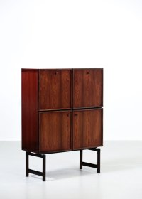 Mid-Century Danish Rosewood Cabinet, 1960s for sale at Pamono