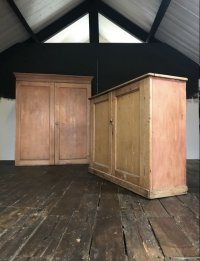 Antique Pine Storage Cabinet for sale at Pamono