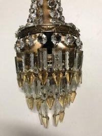 Vintage Crystal Sconces, Set of 2 for sale at Pamono