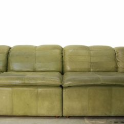 Nubuck Leather Sofa Design L Shape 2016 Modular From Laauser 1970s For Sale