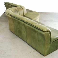 Nubuck Leather Sofa Covers For L Shaped In India Modular From Laauser 1970s Sale