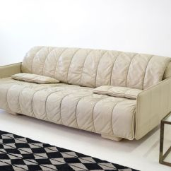 De Sede Sofa Vintage Intex Pull Out Air Bed Leather 3 Seater From For Sale At Pamono
