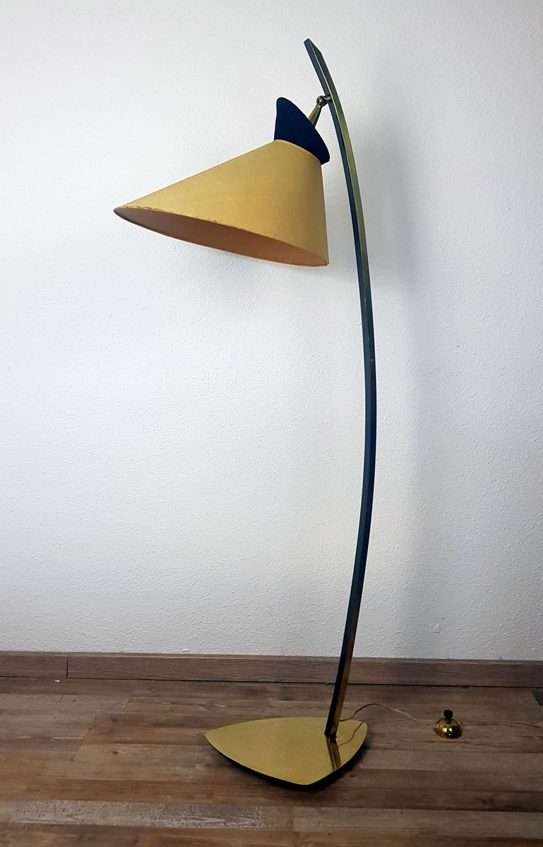 Stehlampe Gelb Retro Stehlampe Standlampe Designer Stehleuchte