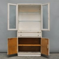 Vintage Wooden Medicine Cabinet, 1940s for sale at Pamono