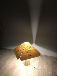 Japanese Table Lamp, 1950s for sale at Pamono