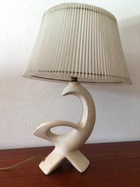 Vintage Ceramic Bird Table Lamp, 1950s for sale at Pamono