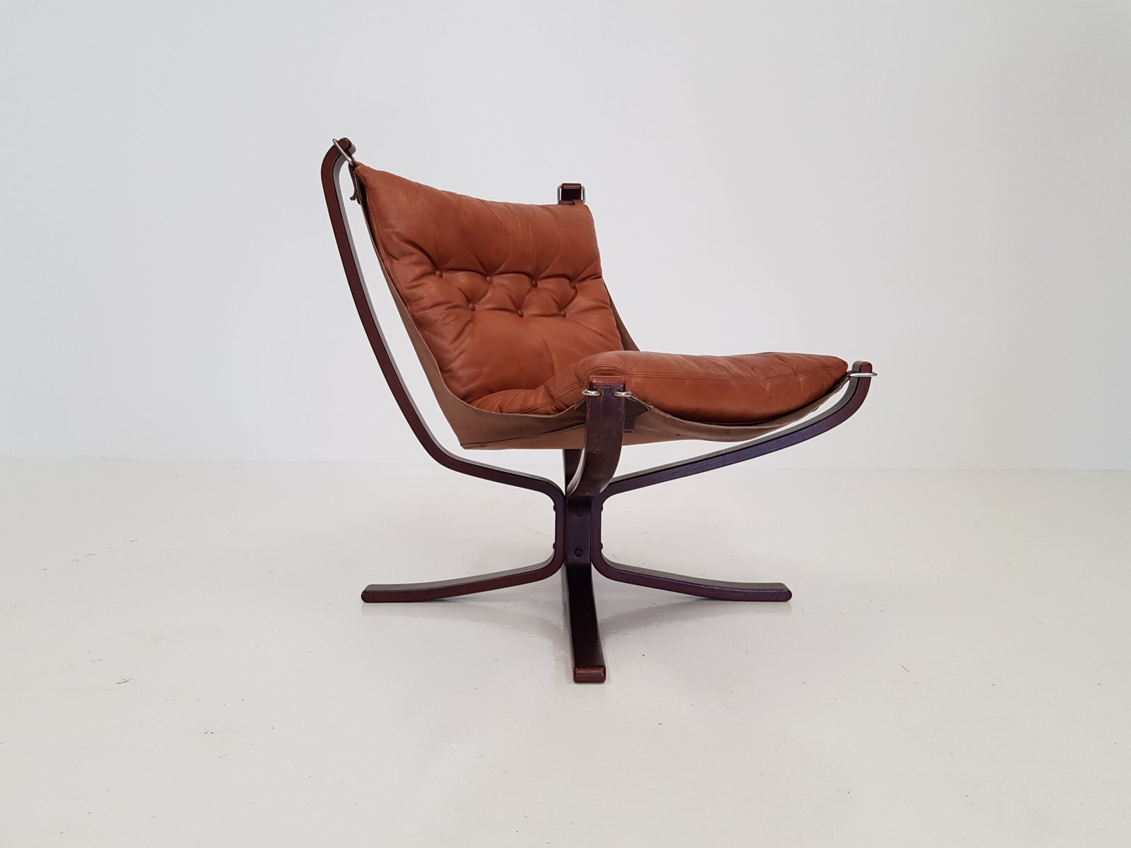 Falcon Chair Vintage Low Backed Falcon Chair By Sigurd Ressell For Vatne Møbler
