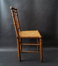 Antique Faux Bamboo Chair for sale at Pamono