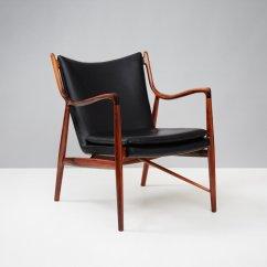 Finn Juhl Chair Uk Kelly Green Sashes Vintage Model Fj-45 By For Niels Vodder Sale At Pamono