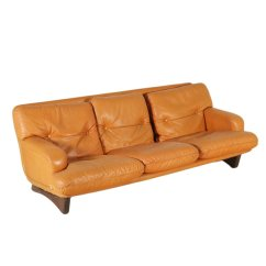Sofa Foam Padding Corner Settee Designs Leather And 1960s For Sale At Pamono