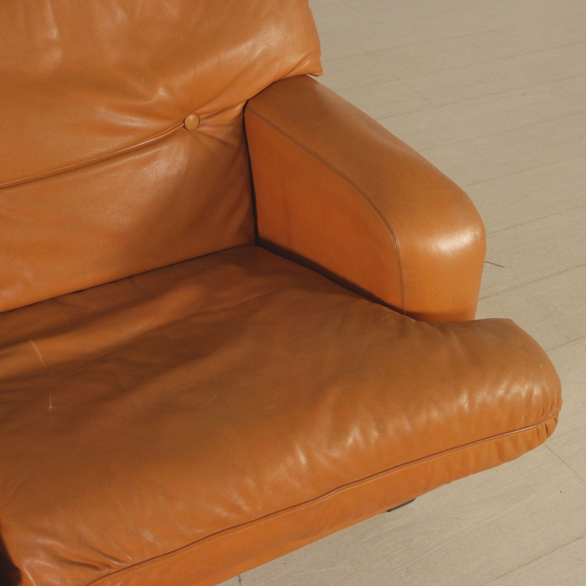sofa foam padding leather sectional sleeper sofas and 1960s for sale at pamono