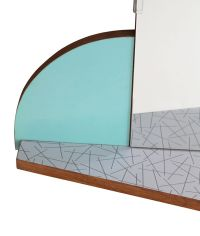 Mid-Century Mirror for sale at Pamono