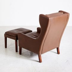 Danish Style Sofa Australia Leather Kids Lounge Chair And Footstool 1970s For Sale At