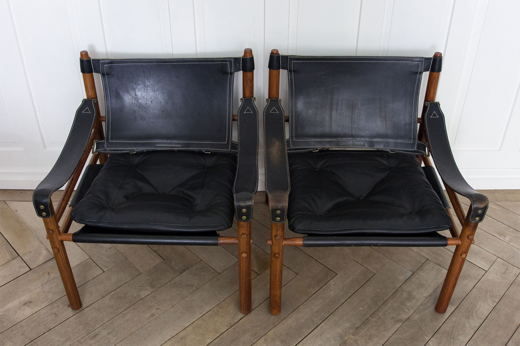 Safari Chairs Sirocco Safari Chairs By Arne Norell 1960s Set Of 2