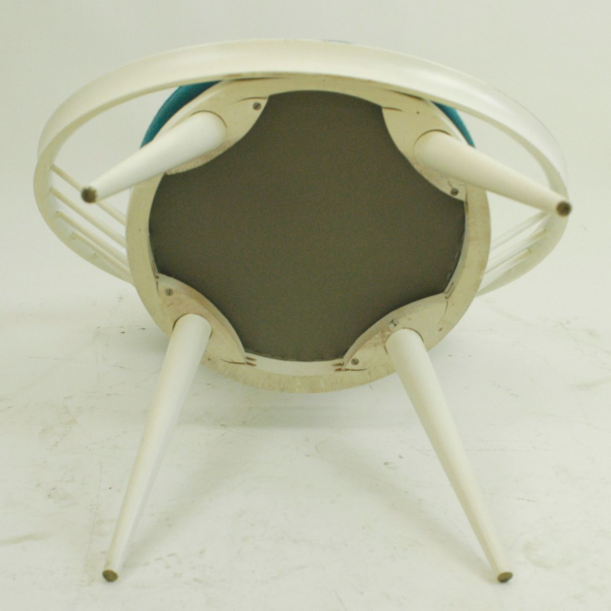 co chairs circle 1950s lawn white lacquered chair by yngve ekström 1960s for
