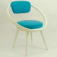 Co Chairs Circle Office Zimbabwe White Lacquered Chair By Yngve Ekström 1960s For
