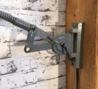 Industrial Gooseneck Wall Lamp, 1960s for sale at Pamono