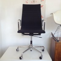 Vintage EA 119 Swivel Chair by Charles & Ray Eames for ...