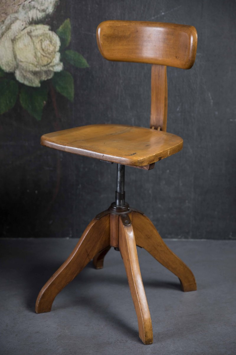 Spring Chair Vintage Spring Rotation Chair By Albert Stoll For Stoll Klock