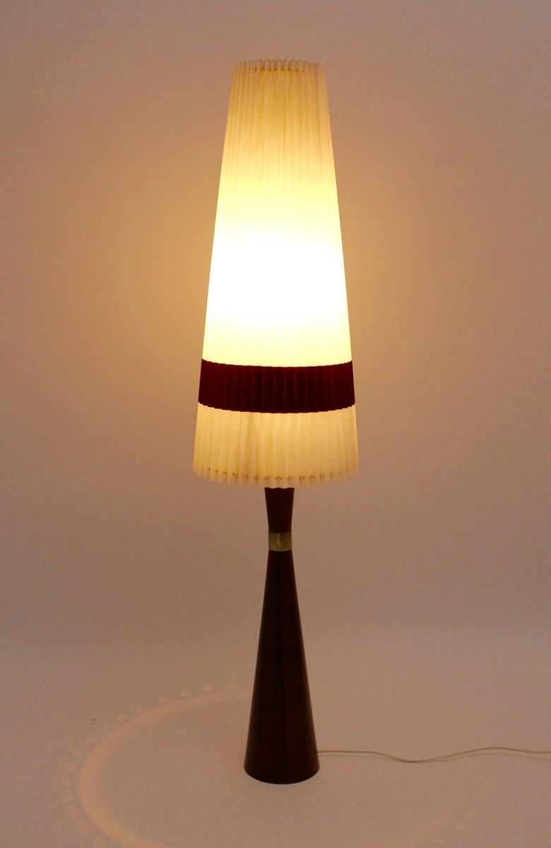 Scandinavian Rosewood Floor Lamp, 1960s for sale at Pamono