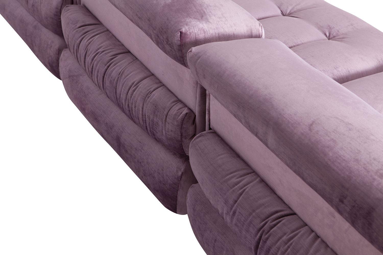 mah jong modular sofa preis verona in purple velvet by hans hopfer