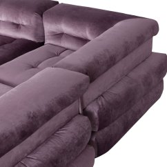 Roche Bobois Mah Jong Modular Sofa Preis Ebay Bed With Storage Modulares In Lila Samt Von Hans Hopfer