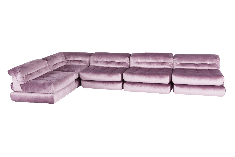 roche bobois mah jong modular sofa preis sofas usados para venda em portugal modulares in lila samt von hans hopfer