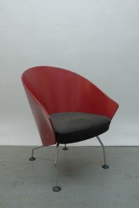 Vintage Lounge Chair by Jrgen Kastholm for sale at Pamono