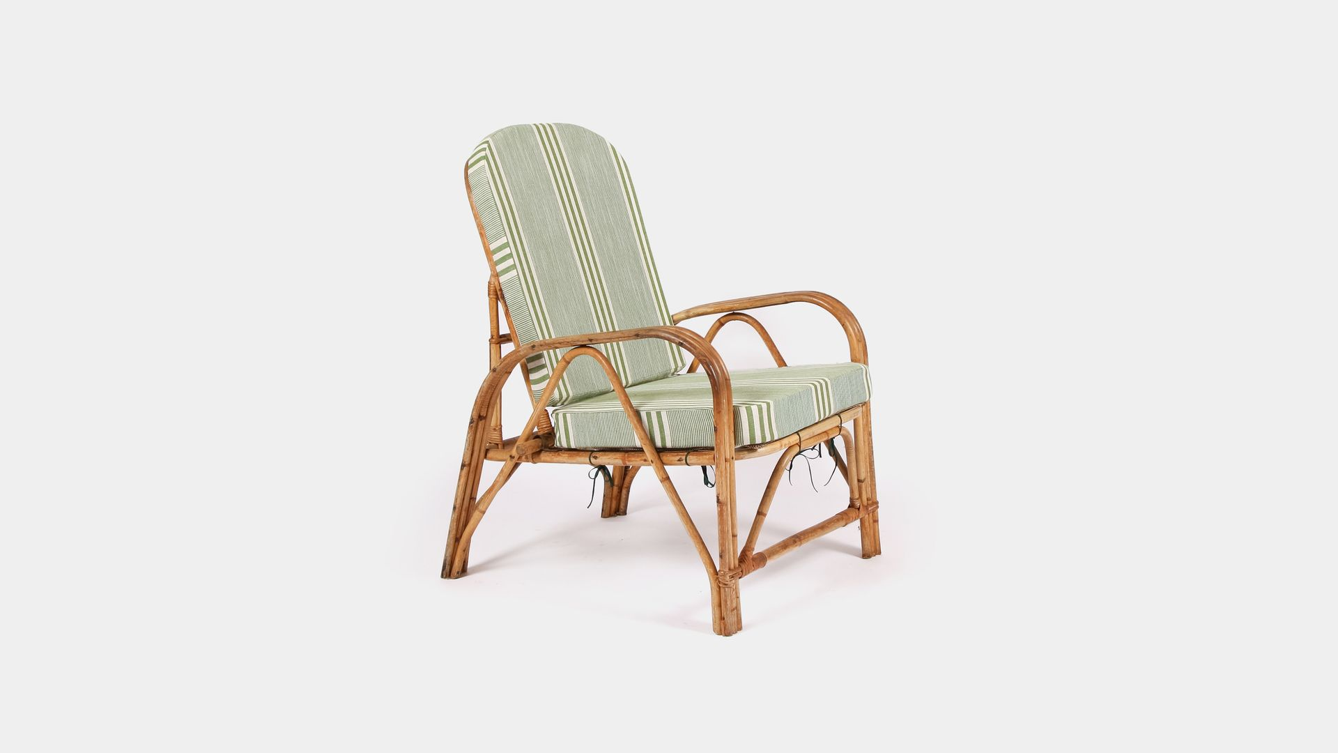 Folding Lounge Chair Vintage Bamboo Folding Lounge Chair