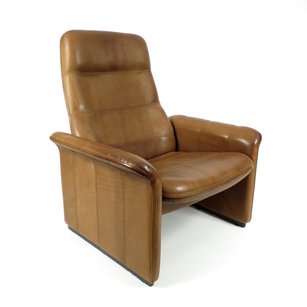 buffalo leather chair baby camping lounge from de sede 1970s for sale