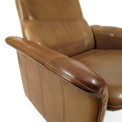 Buffalo Leather Chair Tilting Office Lounge From De Sede 1970s For Sale