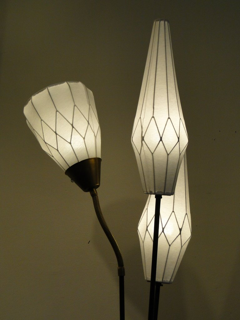 Scandinavian Floor Lamp, 1950s for sale at Pamono