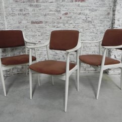 Velvet Dining Chairs Australia Cosco Flat Fold High Chair Vintage Ribbed Set Of 3 For Sale At