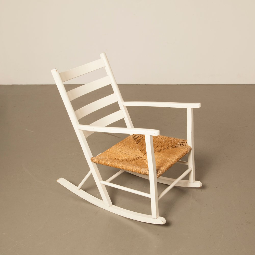 Danish Rocking Chair 1950s for sale at Pamono