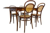 Antique No.11 Chairs & Dining Table by Michael Thonet for ...