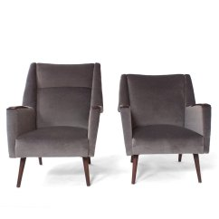 Grey Modern Armchairs Resin Outdoor Chairs Australia Mid Century Set Of 2 For Sale At Pamono Price Per