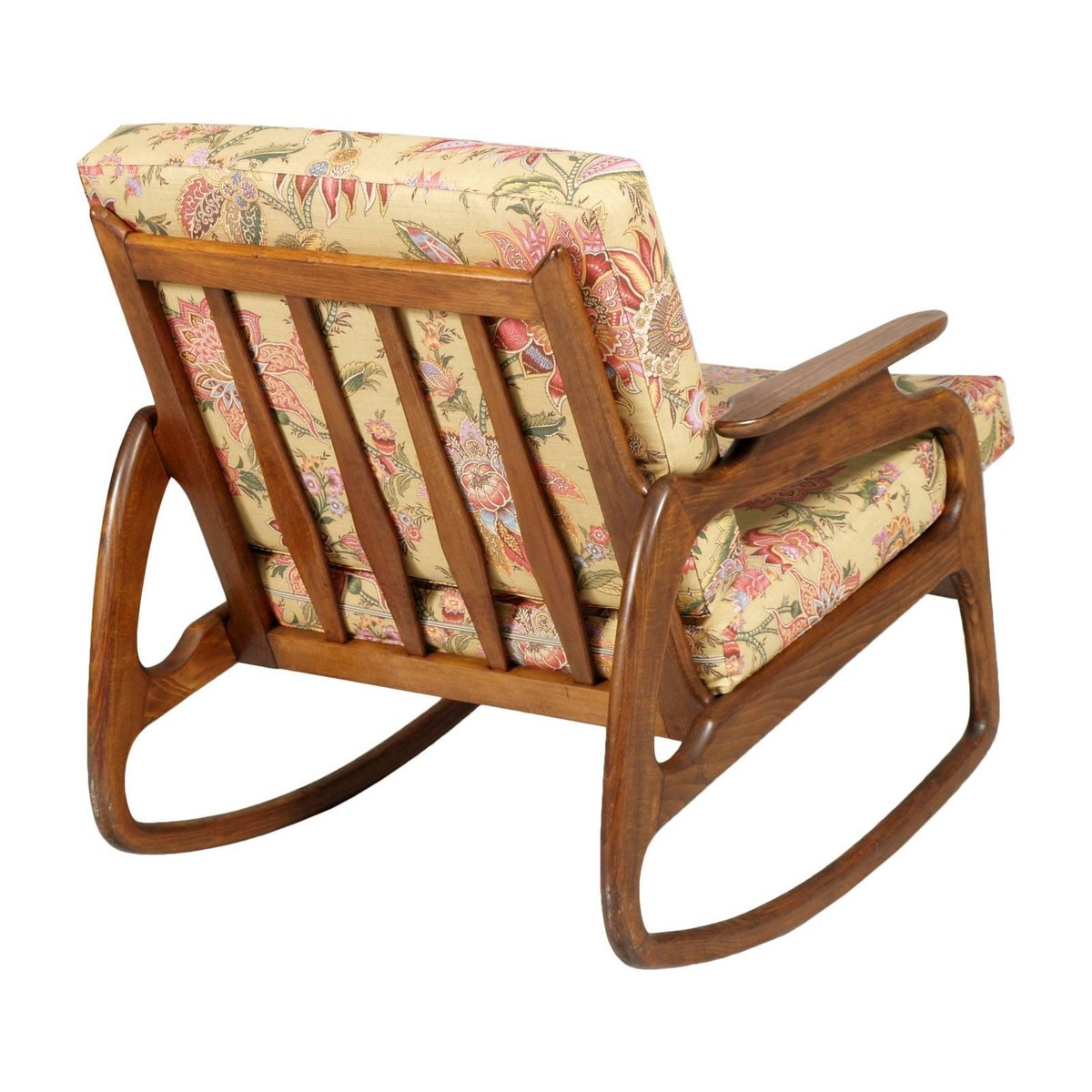 adrian pearsall rocking chair webbed lawn chairs walnut by 1950s for sale at pamono