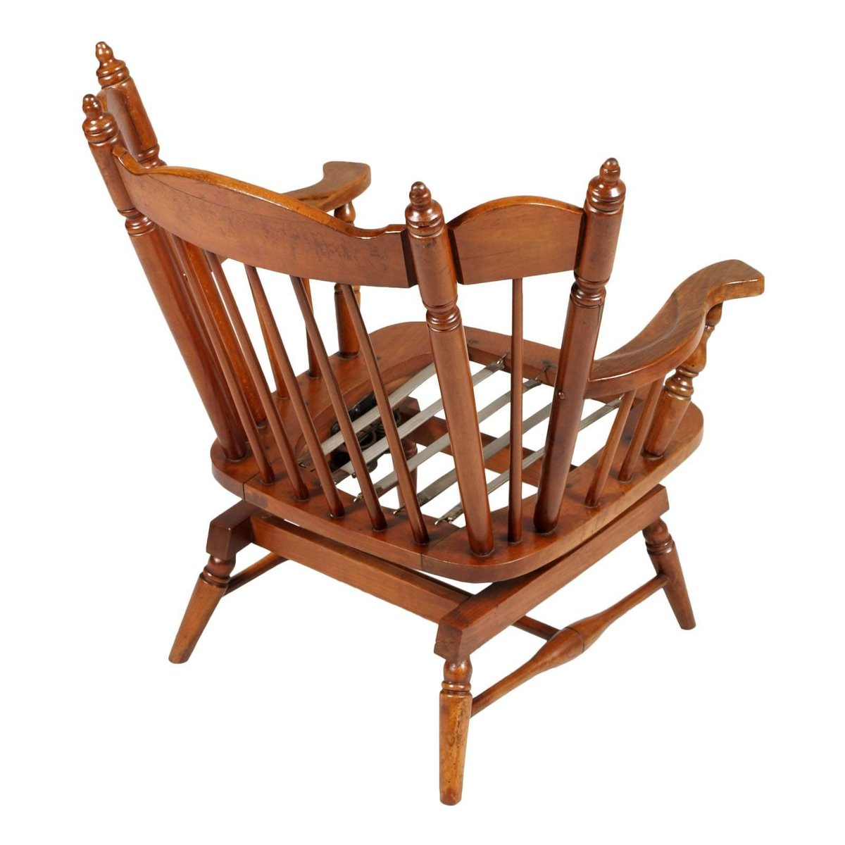 Cheap Rocking Chairs Chiavari Chestnut Rocking Chairs With Springs 1930s Set Of 2