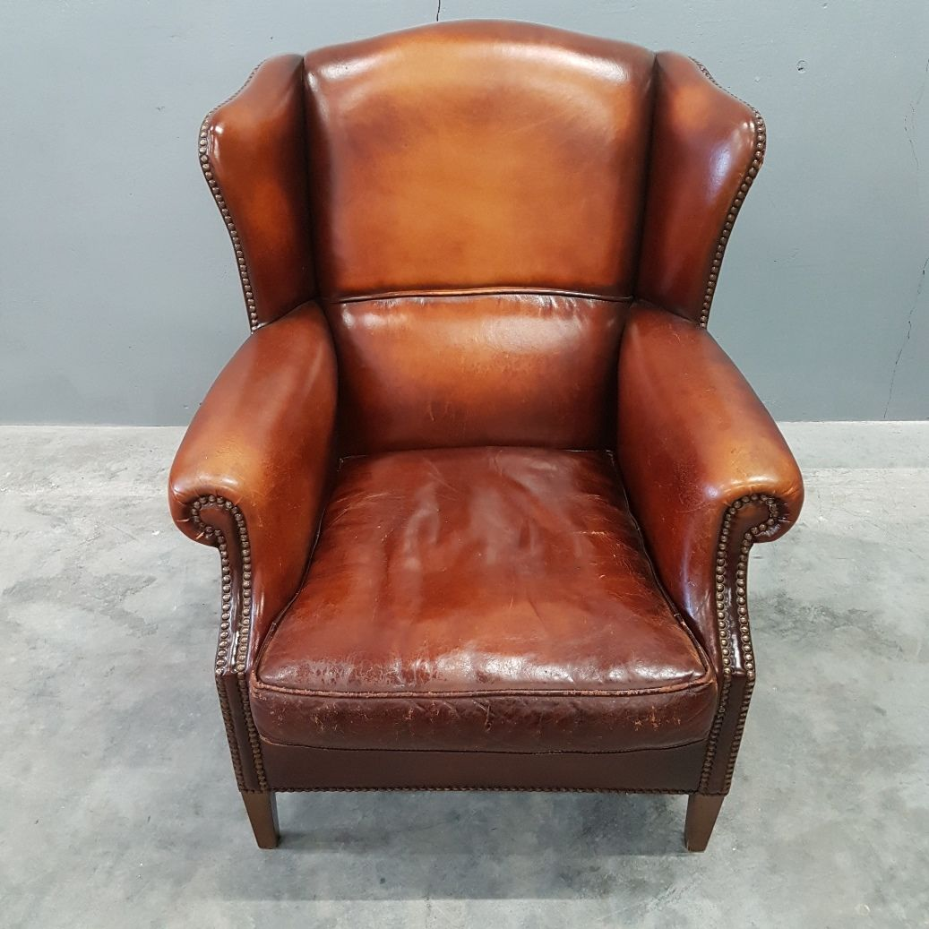 leather wingback chairs south africa chair rental prices sheep wing from muylaert 1970s for sale at