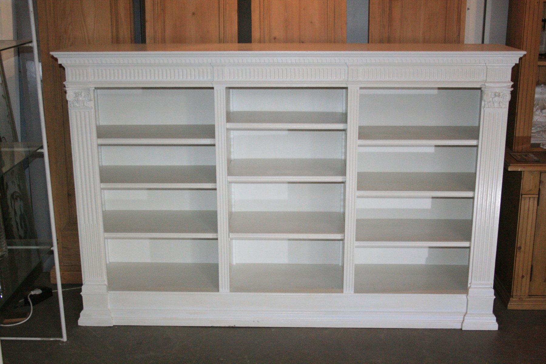 Antique White Bookshelf