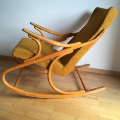 Bent Wood Rocking Chair Postura Max Bentwood From Ton 1970s For Sale At Pamono