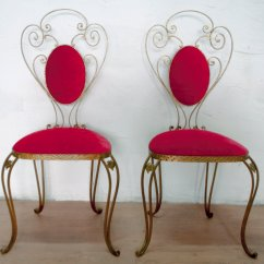 Wrought Iron Chair Medical Stair Italian Chairs By Pier Luigi Colli 1955 Set Of 2 For