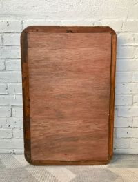 Vintage Wooden Wall Mirror for sale at Pamono