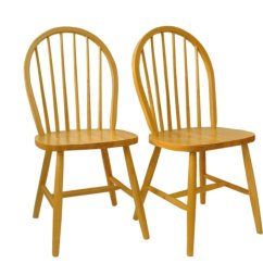 Vintage Wooden Chairs Counter Height Table And With Leaf Set Of 2 For Sale At Pamono